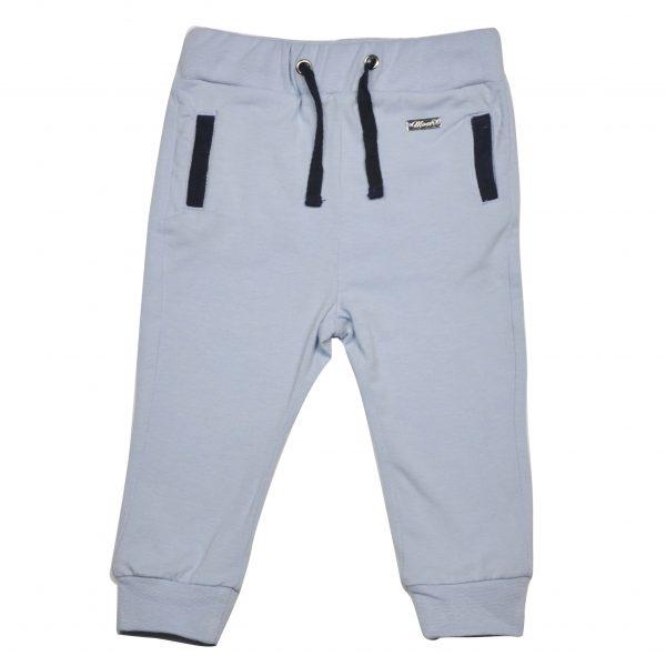 Bukse med lommer - lyseblå